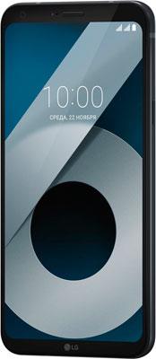 Смартфон LG Q6 4/64 черный смартфон lg q6 m700an 32gb black gold