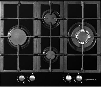 Фото Встраиваемая газовая варочная панель Zigmund amp Shtain MN 155.61 B