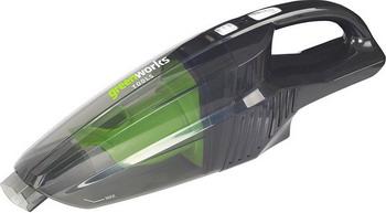Пылесос аккумуляторный Greenworks G 24 HV 4700007 хозяйственный пылесос greenworks 24v g24hv 4700007