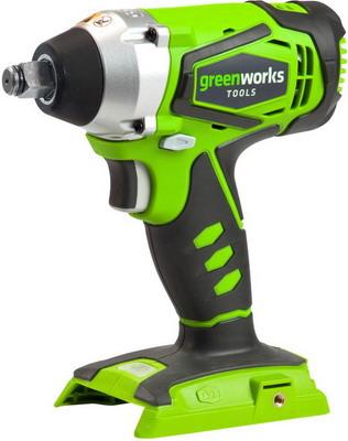 Гайковерт Greenworks G 24 IW 3801207 гайковерт ударный greenworks g24iw