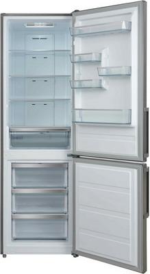 Двухкамерный холодильник Shivaki BMR-1883 DNFX холодильник shivaki bmr 2013dnfw двухкамерный белый