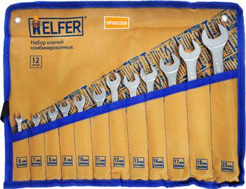 Набор комбинированных ключей HELFER HF 002300 набор инструментов разного назначения helfer hf 000011
