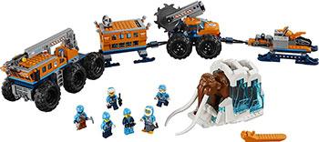 Конструктор Lego Передвижная арктическая база 60195 конструктор lego city арктическая экспедиция аэросани 50 элементов