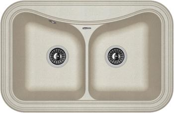 Кухонная мойка Florentina Крит-780 А 780х510 грей FSm мойка florentina нире 480 грей
