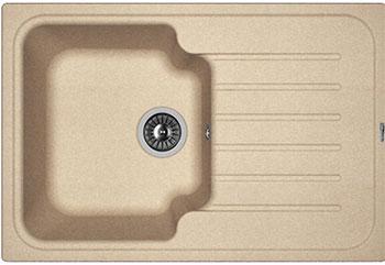 Кухонная мойка Florentina Таис 760 760х510 песочный FG мойка кухонная florentina липси 760 760х510 песочный fg 20 160 d0760 107
