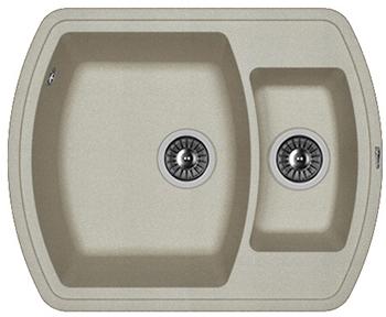 Кухонная мойка Florentina Нире-630 К грей FSm мойка florentina нире 480 грей