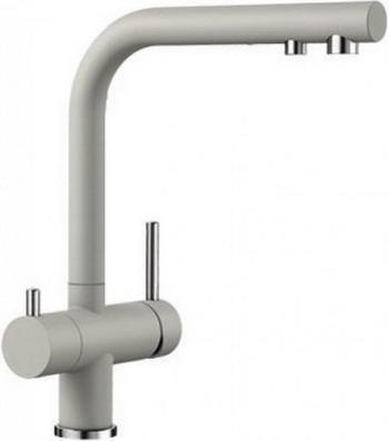 Кухонный смеситель BLANCO FONTAS II SILGRANIT жемчужный 525147 смеситель elipso ii stainless steel 514882 blanco