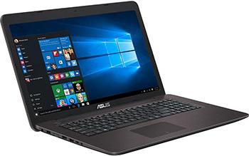 Ноутбук ASUS X 756 UA-T 4613 D (90 NB0A 01-M 07650) тёмно-коричневый цена 2017