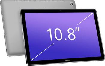 Планшет Huawei MediaPad M5 10.8 Pro 64 Gb LTE серый планшет huawei mediapad m5 10 8 pro 64 gb lte серый