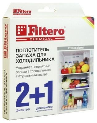 Поглотитель запаха Filtero Арт.504 поглотитель запаха greenfield д холодильников 2шт