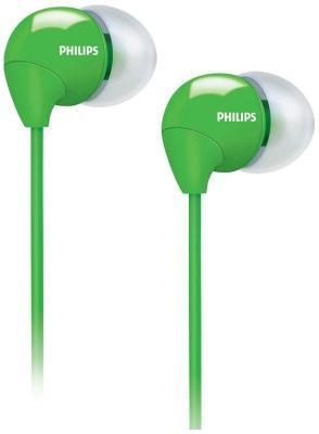 Наушники Philips SHE 3590 GN пылесос с пылесборником philips fc8383 01