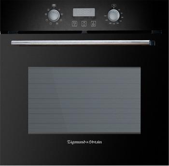 Встраиваемый электрический духовой шкаф Zigmund amp Shtain EN 123.912 B встраиваемый электрический духовой шкаф smeg sf 4120 mcn