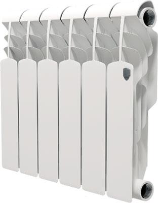 Водяной радиатор отопления Royal Thermo Vittoria 350 - 6 секц. водяной радиатор отопления royal thermo revolution bimetall 350 8 секц