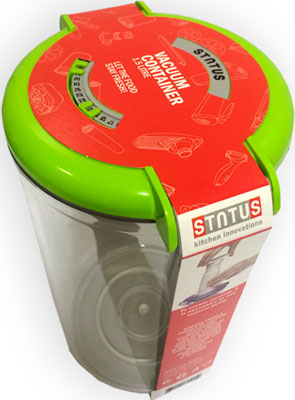 Контейнер для вакуумирования Status VAC-RD-15 Green status vac baby