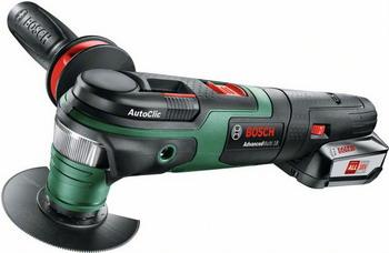 Многофункциональная шлифовальная машина Bosch AdvancedMulti 18 0603104021 многофункциональная шлифовальная машина энкор мфэ 260