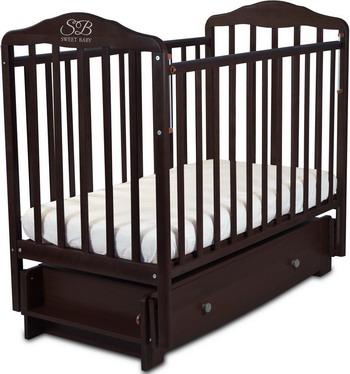 Детская кроватка Sweet Baby Eligio Wenge (Венге) porta 22 2000 700 40 magic fog wenge veralinga
