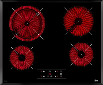 Встраиваемая электрическая варочная панель Teka TR 6420 встраиваемая электрическая варочная панель teka tb 630