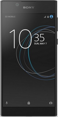 Мобильный телефон Sony Xperia L1 Dual Sim черный sony xperia tipo dual купить в спб
