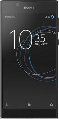 Смартфон Sony Xperia L1 Dual Sim черный sony sony xperia m4 aqua dual e2333 черный 16гб 2 sim 4g lte 3g