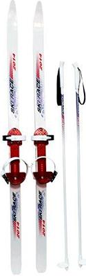 Лыжи Дартс-Ковров Ski Race с палками 120/95 цикл лыжи детские вираж спорт с палками цикл