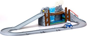 Игровой набор Robocar Poli Обрушающийся мост с металлической машинкой Масти набор игровой для мальчика poli маленький трек с умной машинкой эмбер