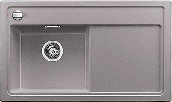 Кухонная мойка BLANCO 523821 ZENAR 45 S-F (чаша слева) SILGRANIT алюметаллик с кл.-авт. InFino кухонная мойка blanco zenar 45 s f правосторонняя белый