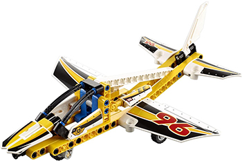 Конструктор Lego Technic Самолёт пилотажной группы 42044-L lego lego technic 42070 лего техник аварийный внедорожник 6х6