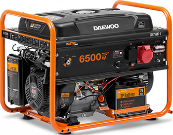 Электрический генератор и электростанция Daewoo Power Products GDA 7500 E генератор бензиновый daewoo gda 6800
