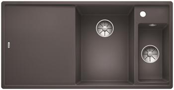 Кухонная мойка BLANCO AXIA III 6 S-F InFino Silgranit темная скала правая ( доска стекло) 523490 мойка axia ii 6 s f rock grey 518834 blanco