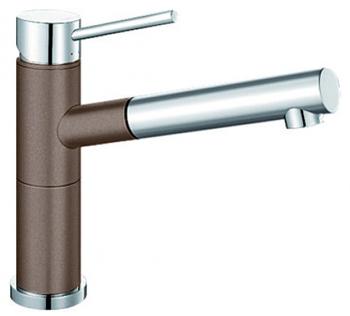 Кухонный смеситель BLANCO ALTA-S Compact хром/мускат 521739 blanco alta s compact двухцветный шампань