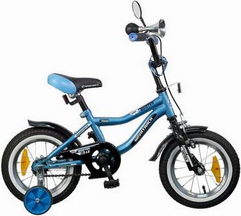 Велосипед Novatrack 12 BOISTER синий 125 BOISTER.BL5