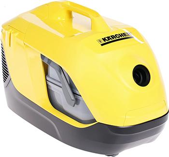 Пылесос Karcher DS 6 *EU желтый (1.195-220.0) пылесос с аквафильтром karcher ds 6 1 195 220 0