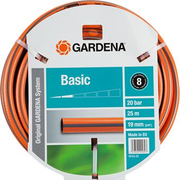 Шланг садовый Gardena Basic 19 мм (3/4'') 25 м 18143-29 шланг gardena superflex диаметр 3 4 длина 25 м