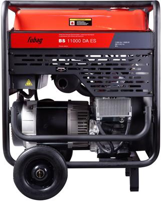 Электростанция бензиновая с электростартером и коннектором автоматики FUBAG BS 11000 DA ES 838790 бензиновая электростанция fubag bs 5500