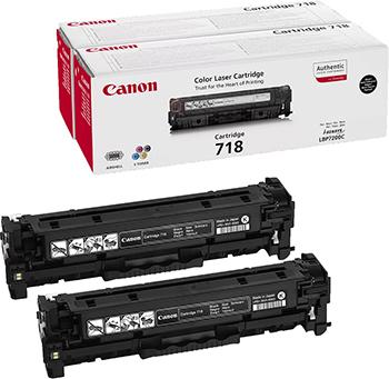 Набор картриджей Canon 718 BK H 2662 B 005 набор для компактного принтера canon лоток pcc cp400