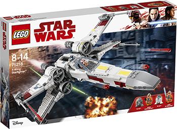 Конструктор Lego Звёздный истребитель типа Х STAR WARS 75218 конструктор lego star wars истребитель сопротивления типа икс 740 элементов 75149