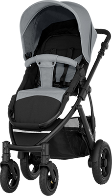 Коляска Britax Roemer Smile 2 Steel Grey 2000023579 коляски 2 в 1 smile line platinum 16 2 в 1