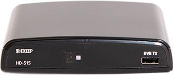 Цифровой телевизионный ресивер Эфир DVB-T2 HD HD-515 цифровой телевизионный dvb t2 ресивер harper hdt2 2015 экран черный full hd dvb t dvb t2 поддержка внешних жестких дисков