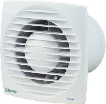 Вытяжной вентилятор BLAUBERG Bravo 125 H белый цена