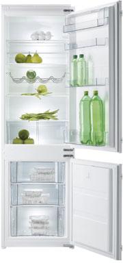 Фото - Встраиваемый двухкамерный холодильник Korting KSI 17850 CF двухкамерный холодильник hitachi r vg 472 pu3 gbw