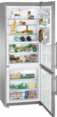 Двухкамерный холодильник Liebherr CBNPes 5156 двухкамерный холодильник liebherr ctpsl 2541