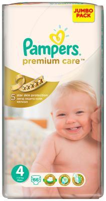 Подгузники Pampers Premium Care Maxi 7-14 кг 4 размер 66 шт подгузники pampers active baby dry maxi 7 14 кг 4 размер 70 шт