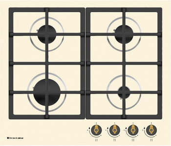Встраиваемая газовая варочная панель Electronicsdeluxe TG4 750231 F-023 ЧР варочная поверхность electronicsdeluxe tg4 750231f 040 black