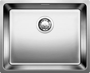 Кухонная мойка BLANCO ANDANO 500-IF нерж.сталь полированная с клапаном-автоматом blanco andano 400 400 if