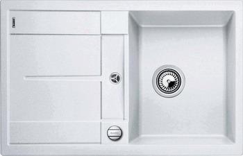 Кухонная мойка BLANCO METRA 45 S SILGRANIT белый мойка metra 45 s anthracite 513035 blanco