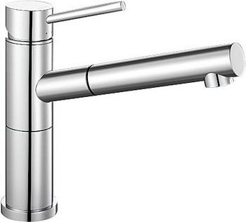 Кухонный смеситель BLANCO ALTA-S Compact хром blanco alta s compact двухцветный шампань