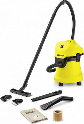 Строительный пылесос Karcher WD 3 Car желтый строительный пылесос karcher wd 4 premium желтый