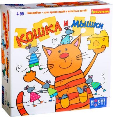 Настольная игра Bondibon Кошка и мышки арт.878182 игра bondibon детектор лжи вв2110