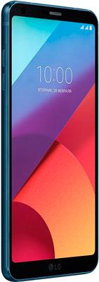Смартфон LG G6 H 870 DS темно синий смартфон lg g6 h870ds 64gb platinum