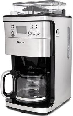 Кофеварка Kitfort КТ-705 кофеварка kitfort 714 кт 1150 вт черный